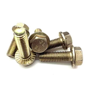 Flanged Tooth Bolts